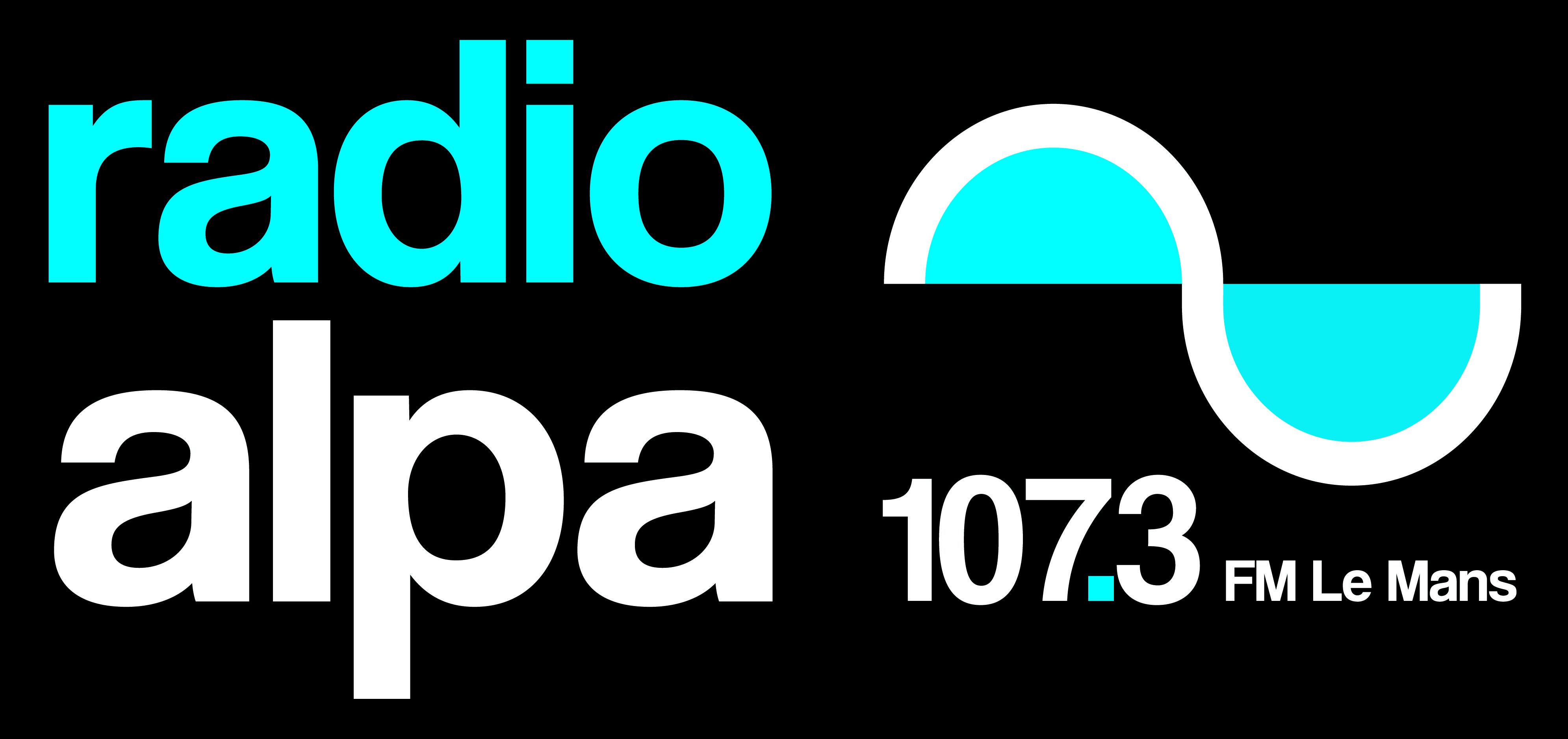 logo radio alpa horizontal